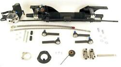 Unisteer Rack And Pinion Power Aluminum Black Ford 1967-70 Mustang Ea