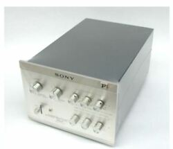 Sony Ta-4300f Channel Dividing Stereo Preamplifier 100v Used Japan Es Vintage