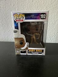 Funko Pop Movies The Fifth Element 192 Ruby Rhod Vaulted Unopened