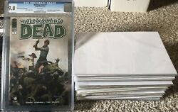 The Walking Dead 1 Cgc 9.8 St. Louis Edition + 50 Book Mystery Comic Lot