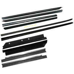 Felt Window Sweep Belt 10 Pc Kit For 87-88 Ford Mustang Convertible And T-top