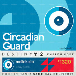 Destiny 2 Circadian Guard Emblem In Hand Fast Delivery