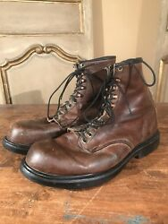 Vtg Red Wing Menand039s Chukka Irish Setter Hiking Boots Size 12 Welcome Ecoolthings