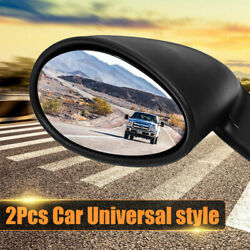 View Mirrors Hot Rod Vintage Sport Racing Car Side Wing Mirrors Bullet Universal