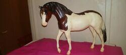 breyer traditional model horses vintage Paint With Blue Eyes