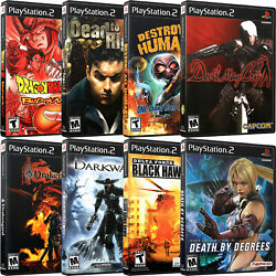 Replacement Playstation 2 Ps2 D Cover Art And Case No Disc Buy More Save More