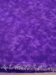 Quilt Backing Fabric Purple Wide Material 104w X 4.5yd 100 Cotton Quilting