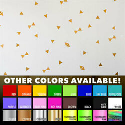 2.5quot; X 2quot; Triangles Home Office Wall Window Decor Vinyl Nursery Decals Stickers