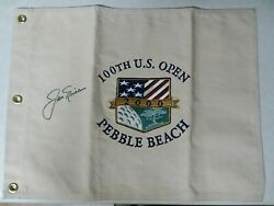 2000 Canvas Us Open Pin Flag Signed By Jack Nicklaus Ryder British Pga