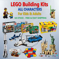 Lego Building Kits Pieces Toys Christmas Gift For Kids Adults Lot All Characters