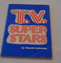T.v. Super Stars 1979 Book By Ronald Lackmann Xerox Education Publications
