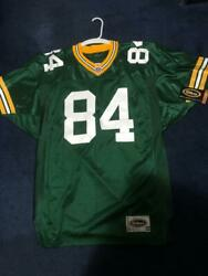 Vintage Wilson Green Bay Packers Sterling Sharpe Mint Condition Size 48