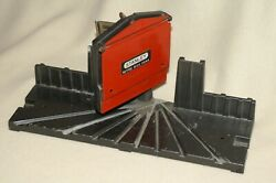 Vintage Stanley Metal Miter Box- Model H114a - Miter Box Only/no Saw -used/vg