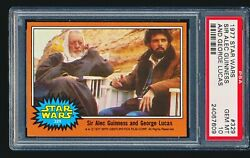 1977 Star Wars 'sir Alec Guinness And George Lucas' 329 Psa 10 - Low Pop 1/8