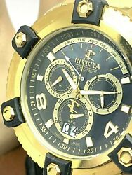 Menand039s Watch 0340 Reserve Arsenal Chronograph Swiss 56mm Case Gold Tone