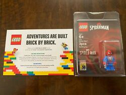 Sdcc Lego Spider-man Ps4 Exclusive Spiderverse Game New Never Opened