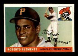 1955 Topps 164 Roberto Clemente Rc Vgex X2160804