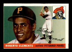 1955 Topps 164 Roberto Clemente Rc Vgex X2179028