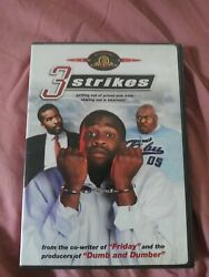 Dvd 3 Strikes Oop Out Of Print Brian Hooks David Alan Grier Discontinued Rare