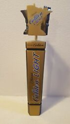 Michelob Golden Light Beer Tap Handle- Large 15 Man Cave Display Mn State