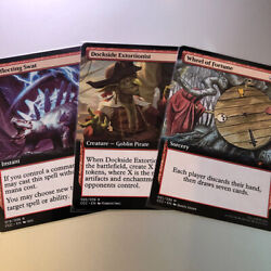 Wheel Of Fortune Dockside Extortionist Deflecting Swat Casual Play Mtg Cards