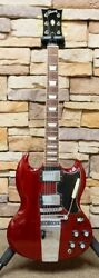 Gibson Sg Original 2013 Heritage Cherry W/ Lyre Tailpiece Electric Guitar G1004