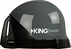 King Vq4100 Quest Portable/roof Mountable Satellite Tv Antenna For Use With Dir