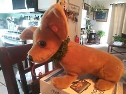 Taco Bell Dog Vintage Stuffed Animal Talks .large Dog Not Small Good Condition