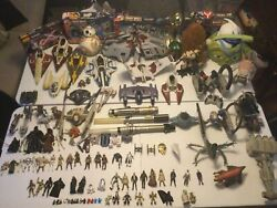 Huge Star Wars Lot Clone At-te Hail Fire Droid Rc Vehicles Figures Creatures