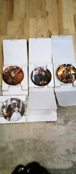 Rare 4 Plate Set Gone With The Wind Coa And Box Bradford Exchange