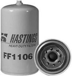 Fuel Filter-water Separator Spin-on With Drain Hastings Ff1106