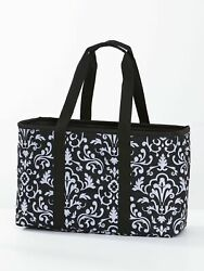 Collapsible Tote Reusable Shopping Beach Bag with Shoulder Straps $19.97