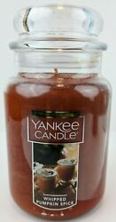 Yankee Candle Whipped Pumpkin Spice 22oz. Large Jar Candle