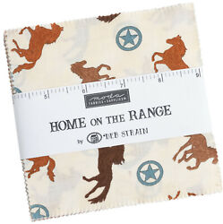 Home On The Range Moda Charm Pack 42 100 Cotton 5 Precut Fabric Quilt Squares