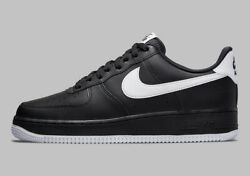 Nike Menand039s Air Force 1 And03907 Black White Dc2911-002 Sizes 7-12
