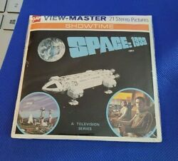 Sealed Gaf Bb451 Space 1999 Sci-fi 70s Tv Show View-master Reels Packet Reel