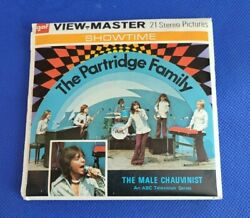 Gaf B592 The Partridge Family Tv Show David Cassidy View-master 3 Reels Packet
