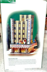 Dept 56 Christmas In The City Radio City Music Hall 58924 Retired With Box