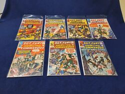 Low Number Lot Of Sgt Fury And His Howling Command Comics 891115171920