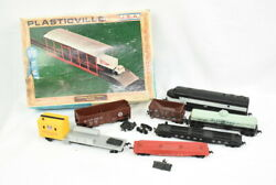 Pemco, Bachmann Train Engines, Cars And Accessories For Parts Or Repair Vintage