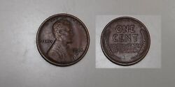 1914-d Lincoln Head Penny Vf Full Wheat Great Color