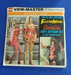 Color H3 Electrawoman And Dynagirl Krofft No 2 Tv Show View-master Reels Packet