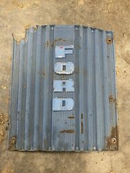 Ford 2000-4000 Tractor Front Hood Grille- 1963-64