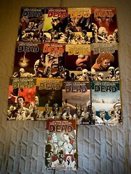 The Walking Dead 1 -29 Trade Paperback Comic Book Lot Plus Extras Mint