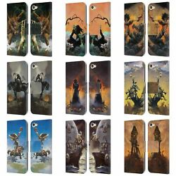 Frank Frazetta Medieval Fantasy Leather Book Case For Apple Ipod Touch Mp3