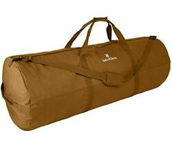 Extremely Large Duffle Bag - Coyote Brown 56x22 - 348.8l - Canvas Military ...