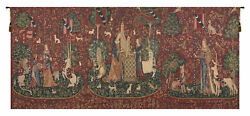 Lady And The Unicorn Series Ii Belgian Wall Tapestry