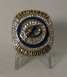 2020 Stanley Cup Tampa Bay Lightning Victor Hedman High Quality Replica Ring Nhl