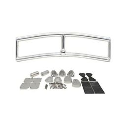 Glastron 385 Gt Polished Steel Boat Wakeboard Top Section 065-2387