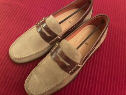 Martin Dingman - Old Row Oiled Saddle Leather Driving Penny Loafer - Sand